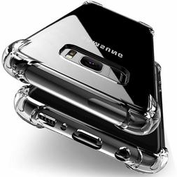 5Lot Hybrid Shockproof Soft Clear Case For Samsung Galaxy S1