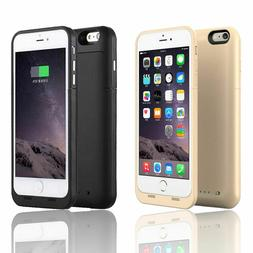 6800mAh Battery Charging Power Bank Charger Case Cover for i