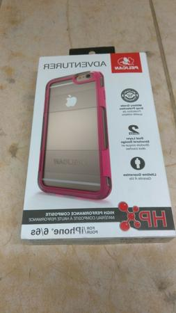Pelican Adventurer Case for Apple iPhone 6 6s Clear Pink New