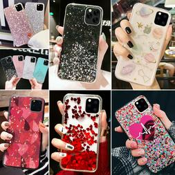 iPhone 11 Pro Max 8 7 XR XS MAX Bling Glitter Case Quicksand