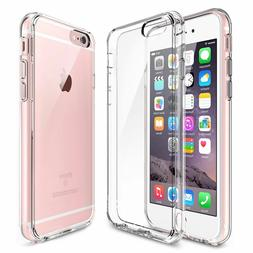 For Apple iPhone 8 Plus Case Silicone Clear Cover Bumper Rub