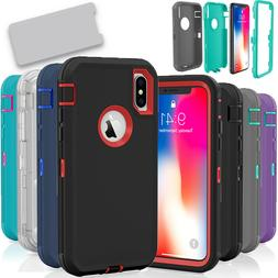 For Apple iPhone X / XS / XR 10S Case Protective Defender Sh