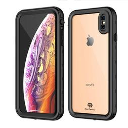 For Apple iPhone Xs Max Clear Back Slim Case Waterproof Unde