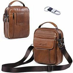 Belt Pouch Bag Messager Genuine Leather Smart Phone Holster