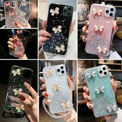 Bling Glitter Butterfly Cute Case Cover For iPhone 12 Pro Ma