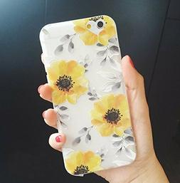 Blingy's iPhone SE  Case/iPhone 8 7 Sunflower
