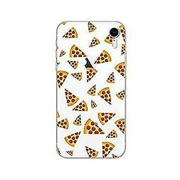 Blingy's iPhone XR Case, New Fun Food Style Transparent Clea