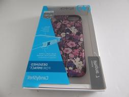 Speck Products CandyShell Case for iPhone 8/7 Flower/Purple