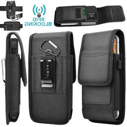Cell Phone Holster Belt Clip Loop Carrying Phone Pouch Rfid