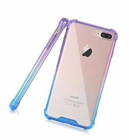 BAISRKE Clear Case for iPhone 7 Plus, Slim Shock Absorption