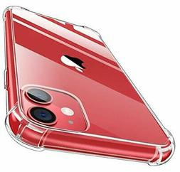 MoKo Compatible with iPhone 11 Case, Clear Reinforced Corner