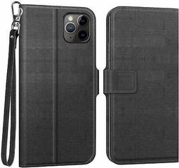 MoKo Compatible with iPhone 11 Pro Max Case,  Folio Wallet