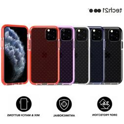 Tech21 Evo Check Case Cover Colored Buttons For Apple iPhone