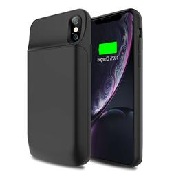 External Battery Charger Power Bank Case For iPhone XR 8 7 P