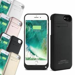 External Battery Charger Power Bank Case For iPhone Xs 7 & 8