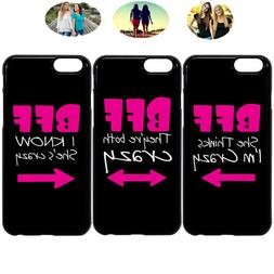 Fashion Crazy Sister Best Friend Bff Phone Case Cover For iP