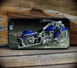 Harley Blue Beach Cruiser iPhones 6 7 8 S or + and X models/