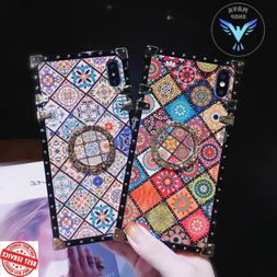 High Quality Bohemian Lanyard Ring Case For iPhone Samsung H