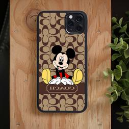 Hot Sale! Coach89Mickey Mouse iPhone 6 7 8 X XS 11 Pro Max S