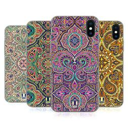 HEAD CASE DESIGNS INTRICATE PAISLEY SOFT GEL CASE FOR APPLE