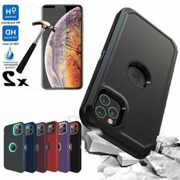 For iPhone 12 Pro/12/11 Pro Max Case Rugged Armor Phone Cove