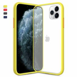 For iPhone 11 Pro Max 11 Case Hybrid Clear Crystal Rugged Ma