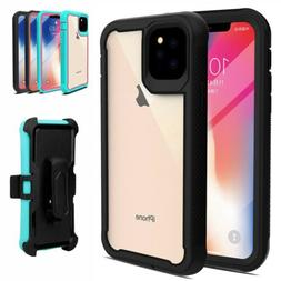 For iPhone 11 Pro Max ,12 Pro ,11 Case Hybrid Heavy Duty Cle