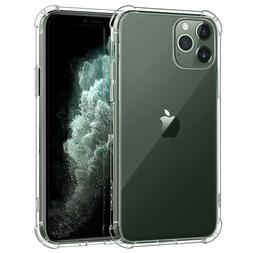 For iPhone 11 Pro Max 2019 6.5''Shockproof Hybrid Crystal Mo