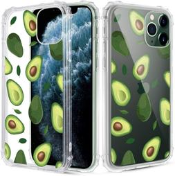 Caka iPhone 11 Pro Max Case Clear with Design, iPhone 11 Pro