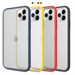For iPhone 11 Pro Max Transparent Thin Shockproof Clear Matt