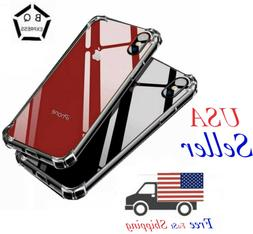 For iPhone Case Clear 11 Pro Max Xr Xs  8 7 xs max Plus Shoc