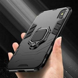 For iPhone 12 11 Pro X XS Max 6 7 8 Plus Hybrid Magnetic Sta