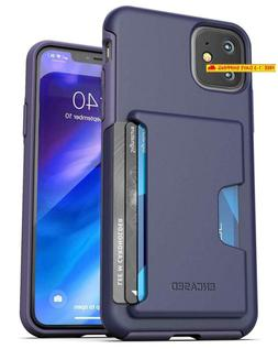 Encased Iphone 11 Wallet Case  Ultra Durable Cover With Card