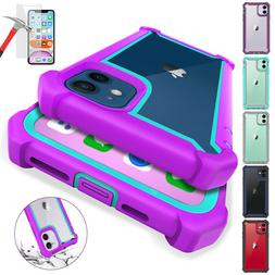 For iPhone 12 / 12 Pro Max 11 Clear Shockproof Hybrid Bumper