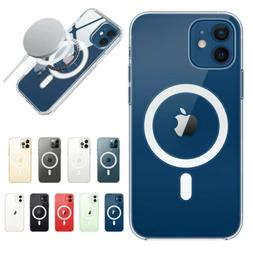 For iPhone 12 Pro Max 12 Mini Shockproof Clear Case Cover wi