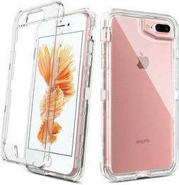 For iPhone 6/6S/7/8Plus Clear Shockproof Protective Cover TP