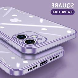 For iPhone X 8 7 6S Plus Case Electroplate Silicone Ultra Sl