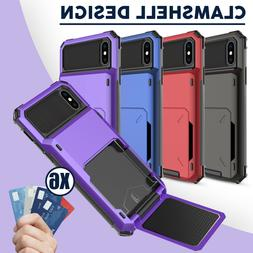 For iPhone 11 Pro XS Max XR Hybrid Heavy Duty Case Cover Wit