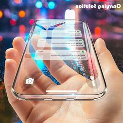 For iPhone 7 8 XS MAX XR 11 12 Mini Pro Crystal Clear Case T