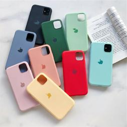 For iPhone11 Pro Max XS XR 8 6S Plus Liquid Silicone Protect