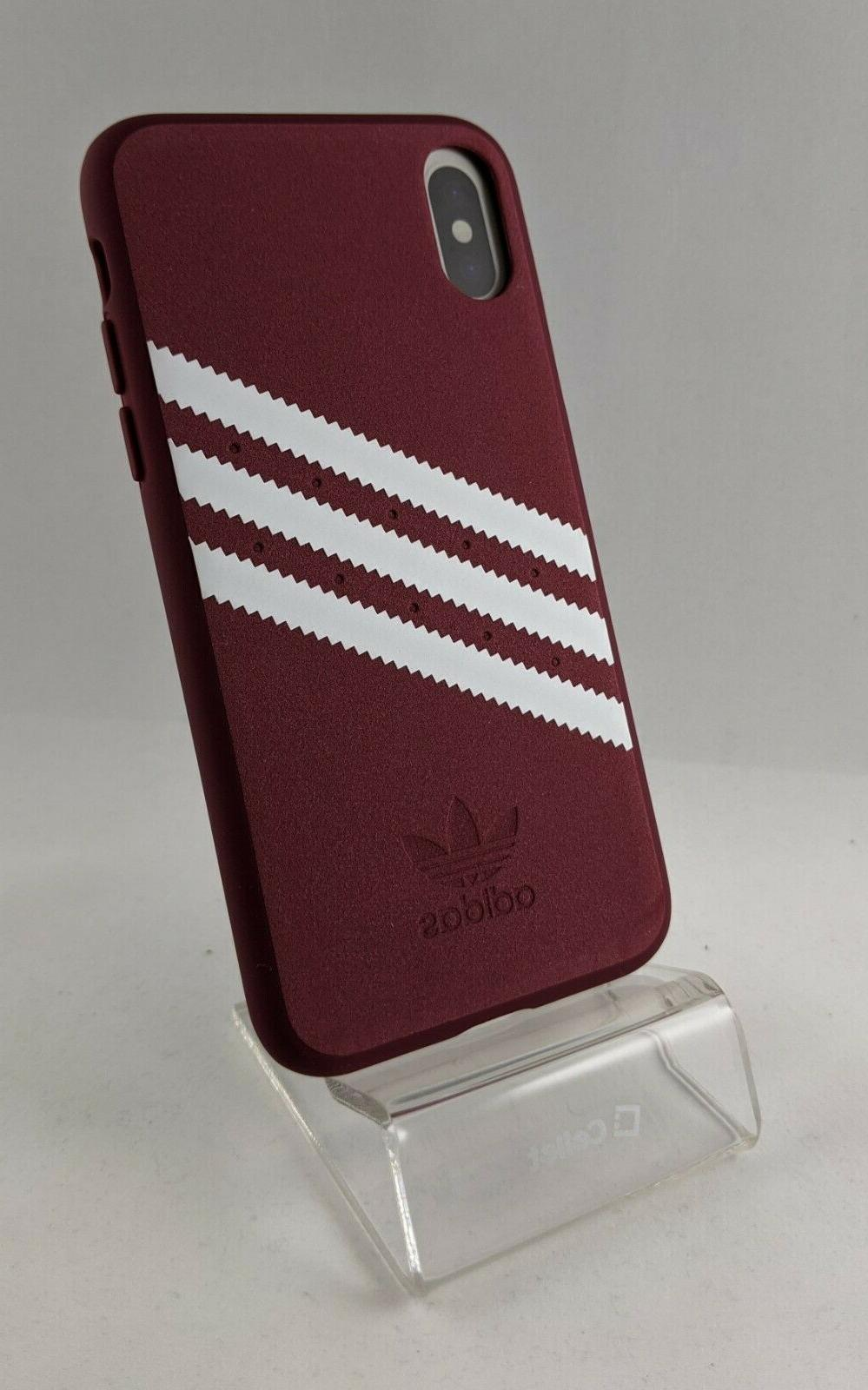 Adidas Case iPhone / XS - 5.8 Faux Leather New
