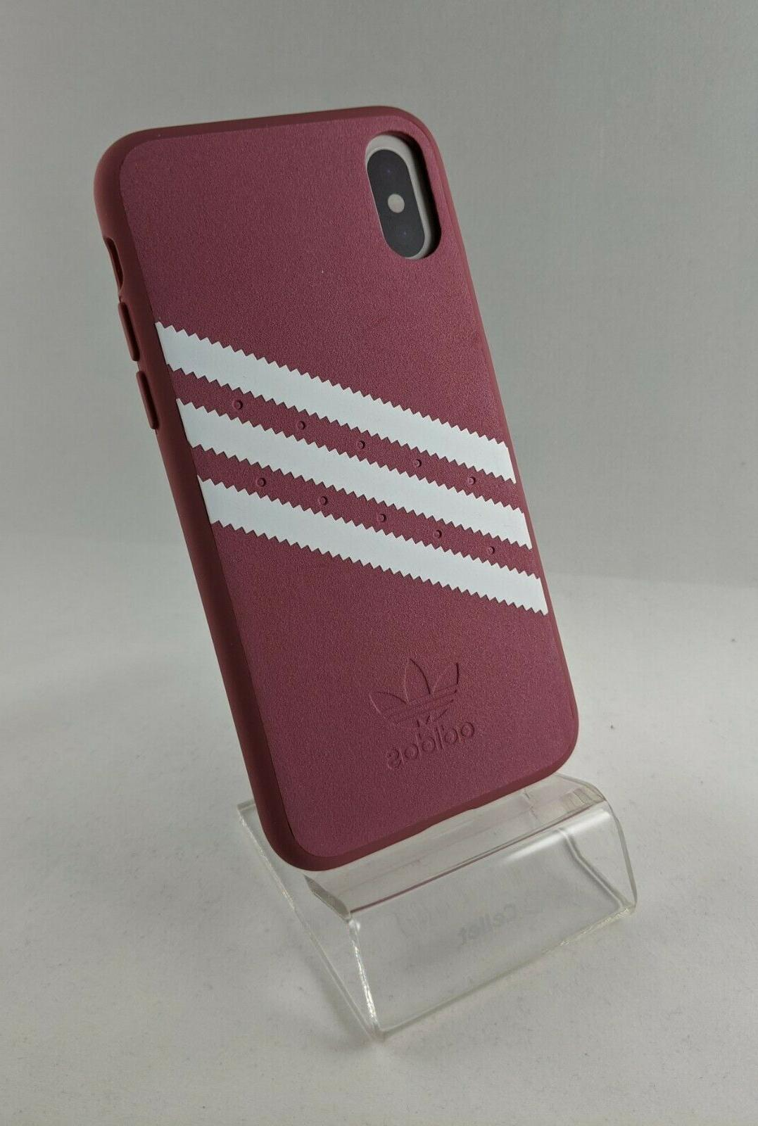 Adidas Stripes Case for iPhone X / - Black 5.8 Apple New