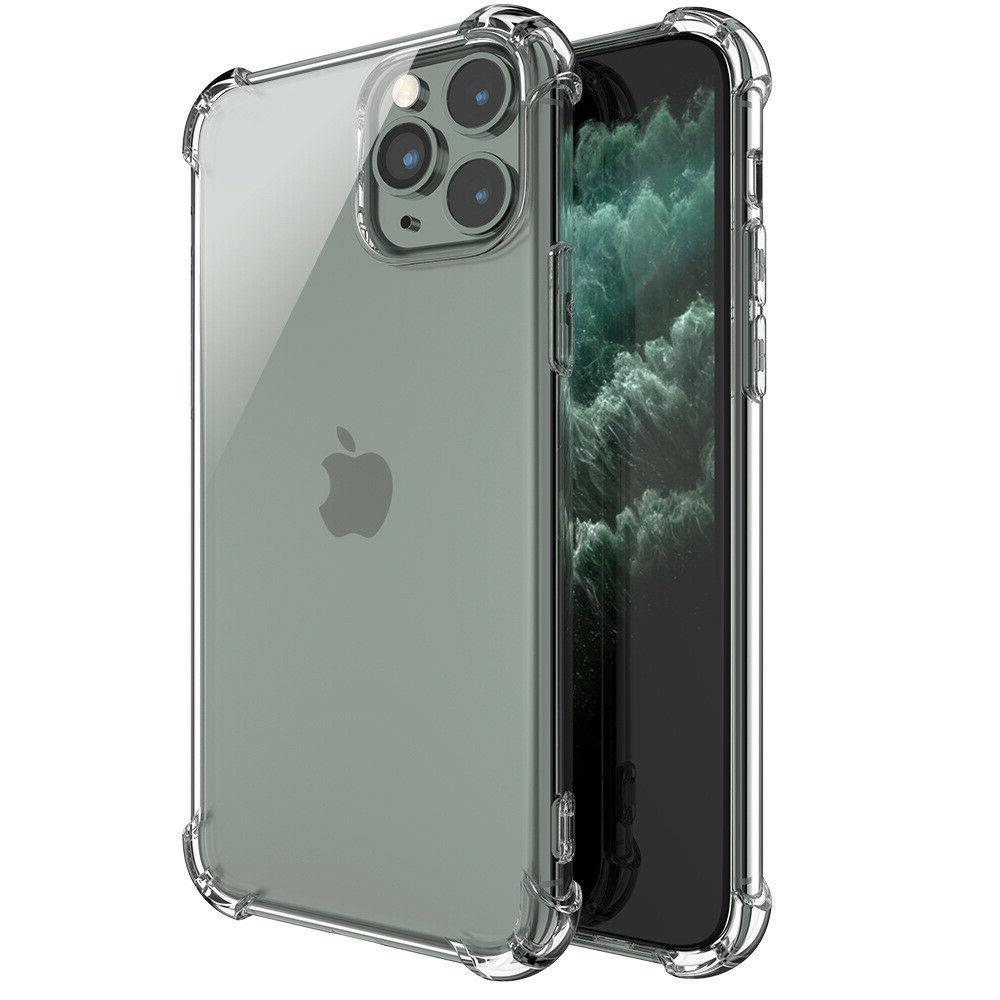 For iPhone 11 Pro Plus X XR MAX Shockproof Clear