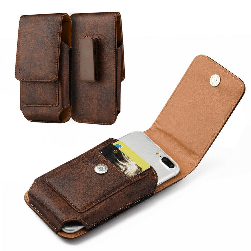 Belt Clip Heavy Leather for