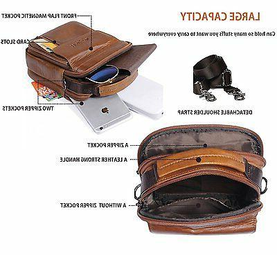 Belt Pouch Genuine Leather Smart Holster Travel