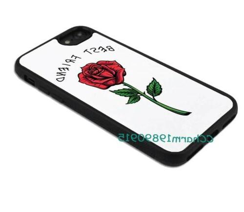 Best Friend Rose Couple Rubber Phone Case For Max&Samsung Galaxy