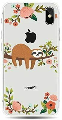 Blingy's iPhone Xs Animal Style Transparent Clear S