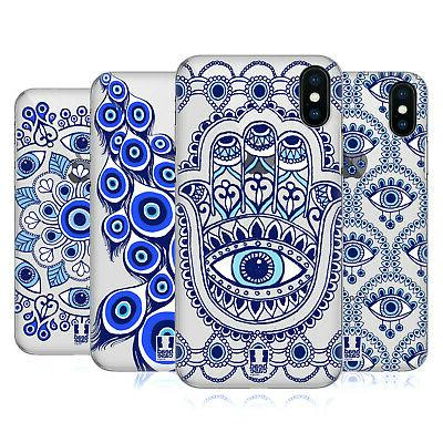 blue eye patterns case for apple iphone