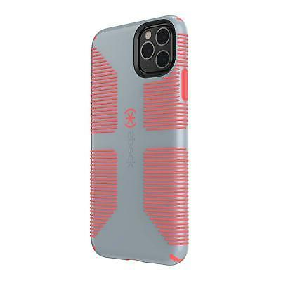 Speck CandyShell Grip IPhone 11 Pro Max Case, Nickel Grey/Wa