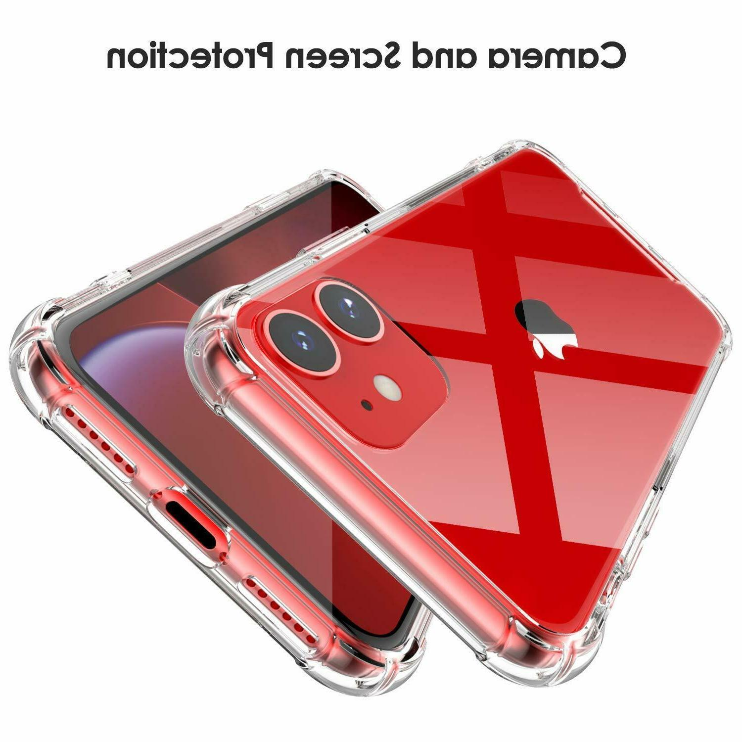 Case for iPhone 11 Pro XR 5s Soft TPU Silicone Cover